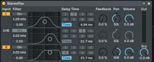 Stereo Haas Effect