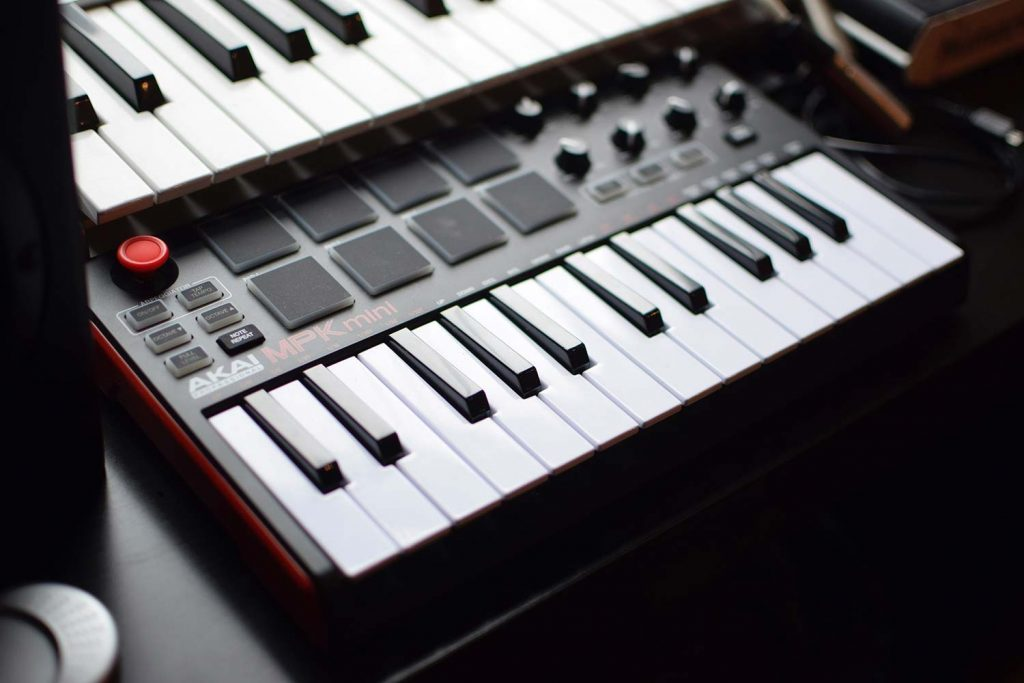 midi keyboard for music production